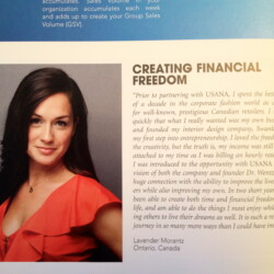 2012/2013 – Creating Financial Freedom – USANA Magazine